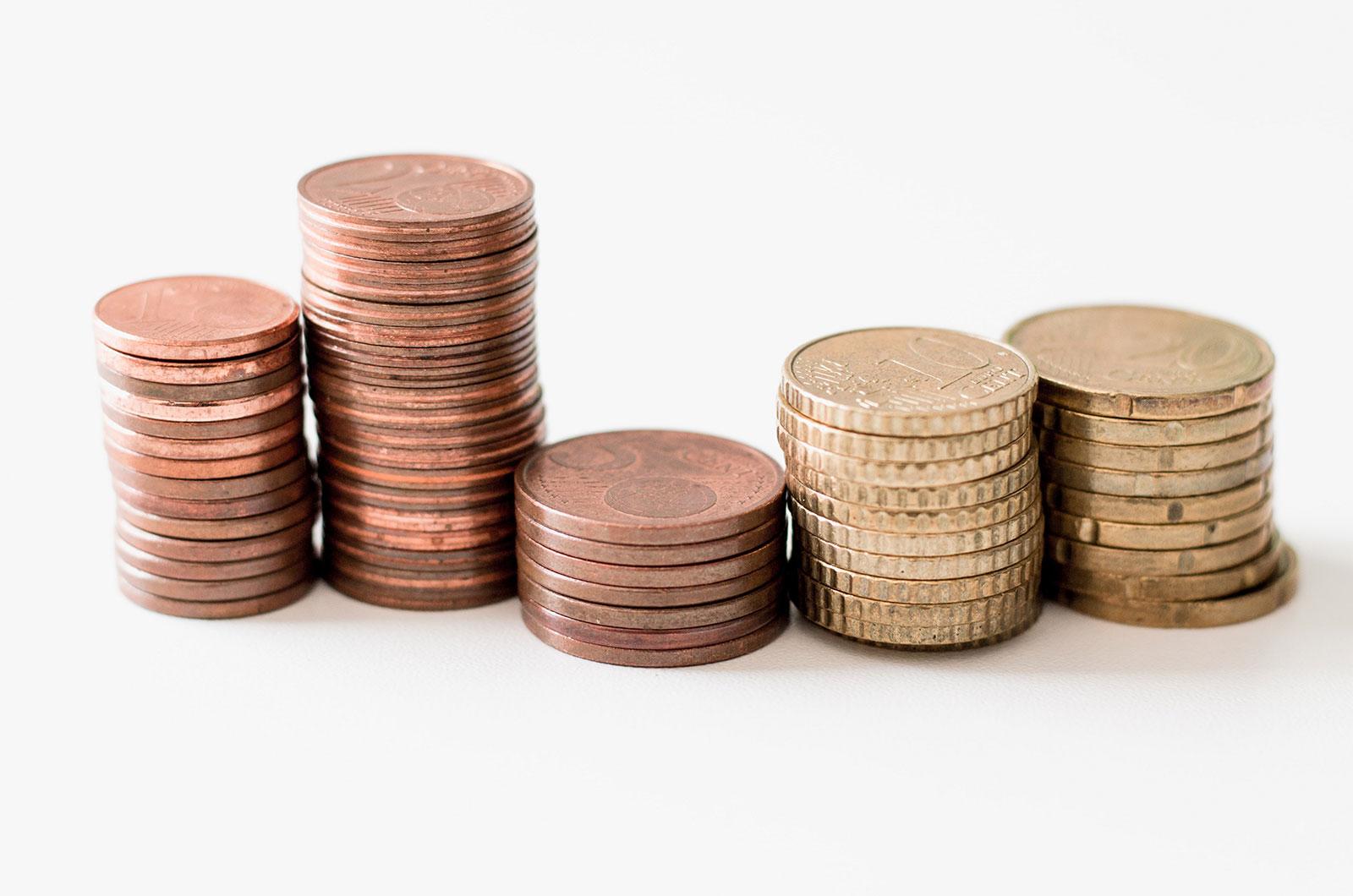 Monedas agrupadas. Concepto de póliza de crédito